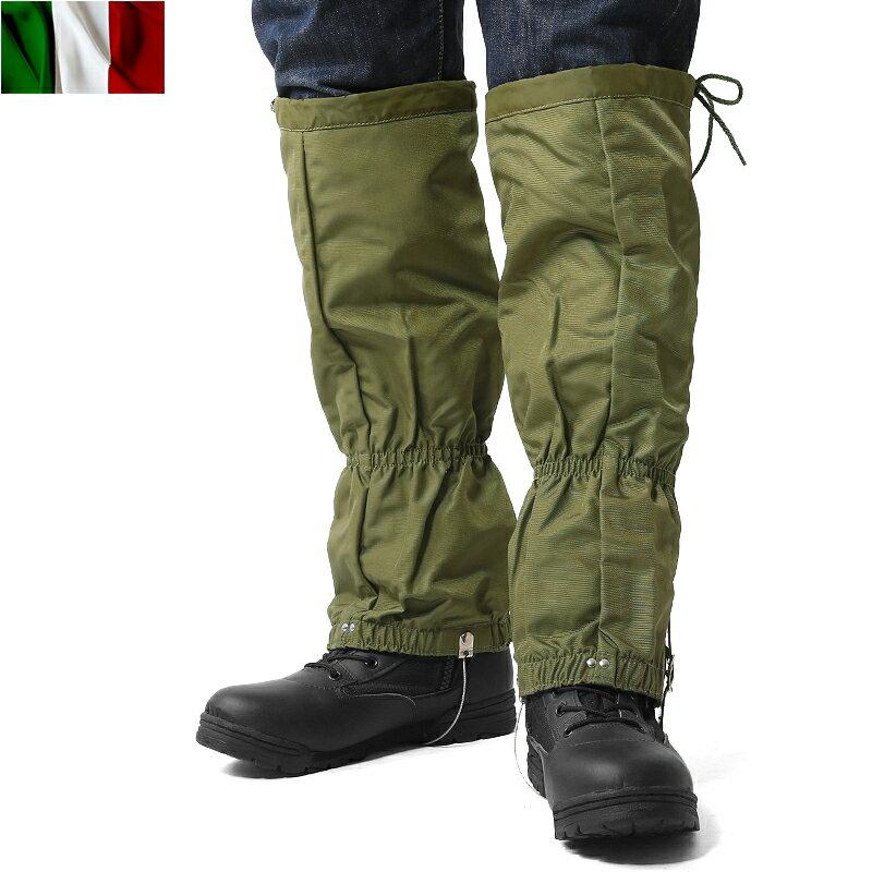 15%OFFクーポン対象商品!実物 新品 イタリア軍 防水 ナイロンレギンス《WIP》 ミリタリー 男性 ギフト プレゼント