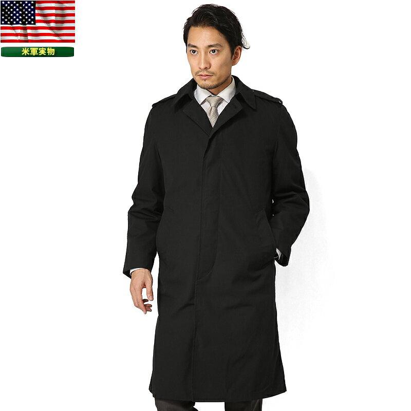 実物 新品 米軍U.S. NAVY ブラックステンカラーコート【SX】《WIP》ミリタリー 軍物 メンズ 男性 ギフト プレゼント【クーポン対象外】