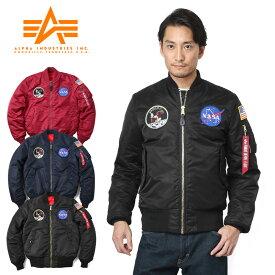 【ポイント10倍】ALPHA アルファ TA0113 NASA APOLLO MA-1 JAPAN FITフライトジャケット★/【Sx】【入】ミリタリー 軍物 ジャパンフィット メンズ  ギフト