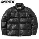 AVIREX アビレックス 6181057 シープスキン ダウンジャケット /【クーポン対象外】ミリタリー 軍物   【キャッシュレス5%還元対象品】