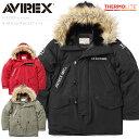 avirex ジャケット【52%OFF大特価】AVIREX アビレックス 6182209 N-3Bフライトジャケット X-15 /【クーポン対象外】N3B アヴィレックス avirex