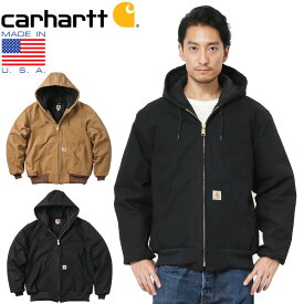 【15%OFFセール開催中】Carhartt カーハート J140 DUCK QUILTED FLANNEL-LINED アクティブジャケット MADE IN USA /アメリカ製 ワークウェア ワークジャケット ダック生地 コットンダック 作業着 アメカジ【キャッシュレス5%還元対象品】