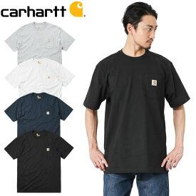 Carhartt カーハート CRHTT87 S/S ポケット付き クルーネック Tシャツ【キャッシュレス5%還元対象品】