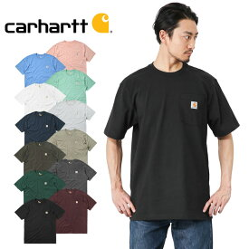 Carhartt カーハート CRHTT87 S/S ポケット付き クルーネック Tシャツ