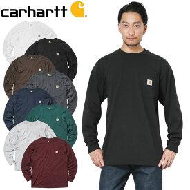 【10%OFFセール開催中】Carhartt カーハート CRHTT-K126 L/S WORKWEAR ポケットTシャツミリタリー 軍物 メンズ  【キャッシュレス5%還元対象品】