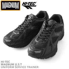 【割引クーポン対象品】HI-TEC ハイテック MAGNUM マグナム U.S.T タクティカルシューズ / ミリタリー ミリタリーシューズ スニーカー イギリス軍 特殊部隊