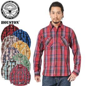 HOUSTON ヒューストン 40624 チェック ビエラ ヴィンテージ ワークシャツ