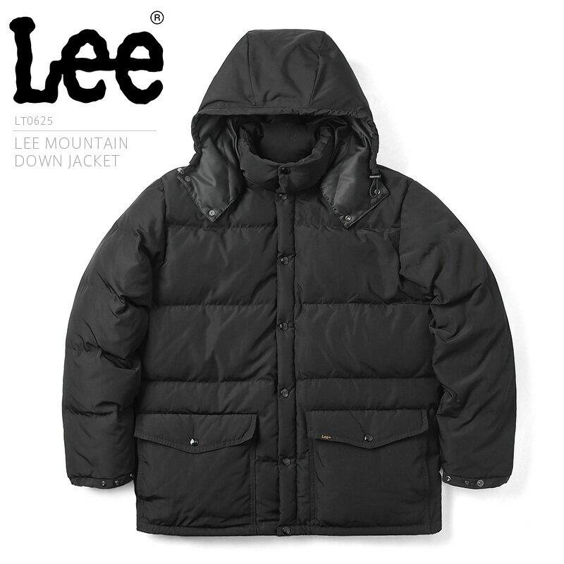 【20%OFFセール開催中】Lee リー LT0625 マウンテン ダウンジャケット/ アウター アメカジ 防寒着 冬 男性 ギフト プレゼント メンズ