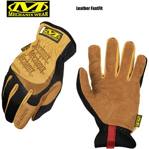 【最大18%OFF/割引クーポン対象品】MechanixWear メカニクスウェア Leather Fast Fit Glove レザーファーストフィットグローブ/ レディース ミリタリー グローブ 手袋 タクティカル サバゲー サバイバ