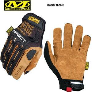 【最大18%OFF/割引クーポン対象品】MechanixWear メカニクスウェア Leather M-pact Glove レザーエムパクトグローブ/ レディース ミリタリー グローブ 手袋 タクティカル サバゲー サバイバルゲーム
