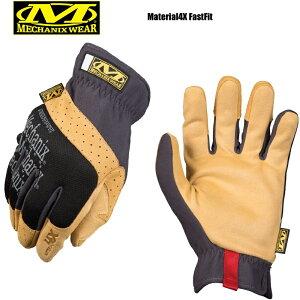 【最大18%OFF/割引クーポン対象品】MechanixWear メカニックスウェア Material4X FastFit Glove マテリアル4Xファーストフィットグローブ/ミリタリー 軍物