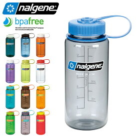 【20%OFFセール開催中】NALGENE ナルゲン 広口 0.5L TRITAN プラスチックボトル 水筒 MADE IN USA / ボトル アウトドア カラーボトル