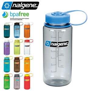 【15%OFFクーポン対象品】NALGENE ナルゲン 広口 0.5L TRITAN プラスチックボトル 水筒 MADE IN USA / ボトル アウトドア カラーボトル【Sx】