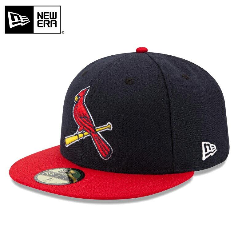 【20%OFF】【メーカー取次】 NEW ERA ニューエラ 59FIFTY MLB On-Field セントルイス・カージナルス ネイビーXレッド 11449338 キャップ