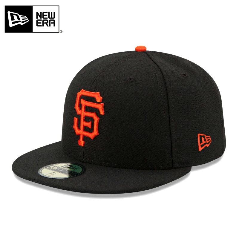 【20%OFF】【メーカー取次】 NEW ERA ニューエラ 59FIFTY MLB On-Field サンフランシスコ・ジャイアンツ ブラック 11449343 キャップ