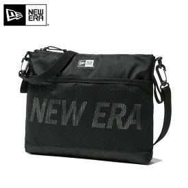 NEW ERA ニューエラ 11901491 サコッシュ 2.5L ブラック×ホワイト【Sx】