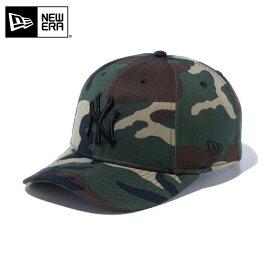 【メーカー取次】 NEW ERA ニューエラ 9FIFTY Stretch Snap ニューヨーク・ヤンキース ウッドランドカモXブラックロゴ 12018936 キャップ / CAP 帽子 野球帽 アメカジ