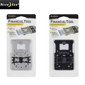 NITE IZE ナイトアイズ FINANCIAL TOOL RFIDブロック WALLET/ミリタリー 軍物 メンズ  【キャッシュレス5%還元対象品】