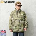 Snugpak スナグパック MML 3 Softie Smock ジャケット MultiCam MADE IN UK【クーポン対象外】