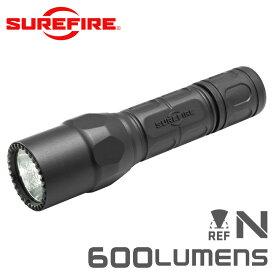 SUREFIRE シュアファイア G2X LE Dual-Output LEDフラッシュライト / 600ルーメン(G2XLE-BK)【クーポン対象外】