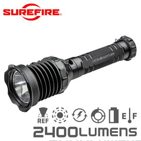 SUREFIRE シュアファイア UDR DOMINATOR Rechargeable Ultra-High Variable-Output LED フラッシュライト / 2400ルーメン【クーポン対象外】