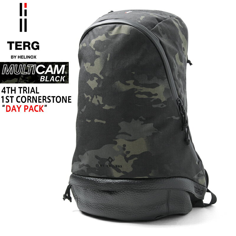 【10%OFFセール開催中】TERG BY HELINOX ターグ バイ ヘリノックス DAY PACK(デイパック) Multicam Black《WIP》ミリタリー 軍物 メンズ 男性 ギフト プレゼント