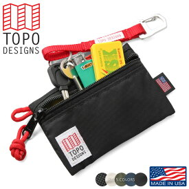 TOPO DESIGNS トポデザイン アクセサリーバッグ MICRO - MADE IN USA 【キャッシュレス5%還元対象品】