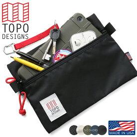 TOPO DESIGNS トポデザイン アクセサリーバッグ MEDIUM - MADE IN USA 【キャッシュレス5%還元対象品】