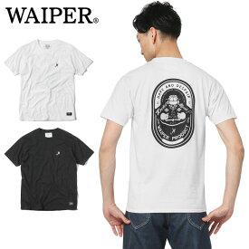 WAIPER.inc 1819002 READY パイロットプリント Tシャツミリタリー 軍物 メンズ  【キャッシュレス5%還元対象品】