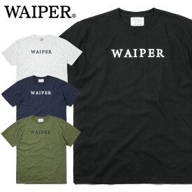 WAIPER.inc 1920006 S/S プリント Tシャツ WAIPER LOGO / 【Sx】ミリタリー プリントT Tシャツ 半袖Tシャツ ワイパー【キャッシュレス5%還元対象品】