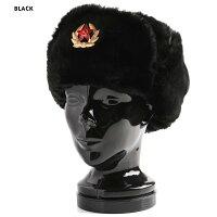 新品ロシア軍実物製造工場製兵用防寒帽(ウシャンカ)《WIP》