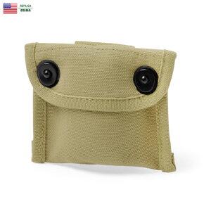 新品 米軍 WWII EQUIPMENT コットンコンパスポーチ/ミリタリー 軍物 メンズ