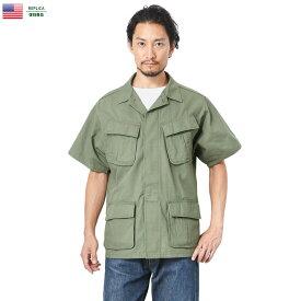 忠実復刻 新品 米軍 半袖 ジャングルファティーグ ジャケット(ベトナムジャケット) 4thモデル【Zo】