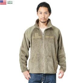 実物 USED 米軍 ECWCS Gen3 POLARTEC フリースジャケット COYOTE【クーポン対象外】【キャッシュレス5%還元対象品】