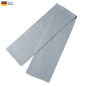 実物 新品 ドイツ軍 スカーフマフラー GREY