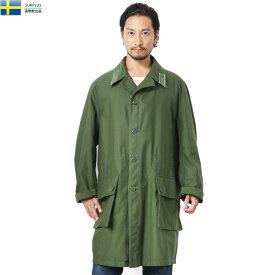 実物 USED スウェーデン軍 M-59 フィールドコート / ミリタリー ユーロサープラス 軍物 M59 ミリタリーコート【クーポン対象外】【キャッシュレス5%還元対象品】