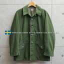 実物 USED スウェーデン軍 M-59 フィールドジャケット / ユーロミリタリー 古着 軍物 ミリタリージャケット【クーポン…
