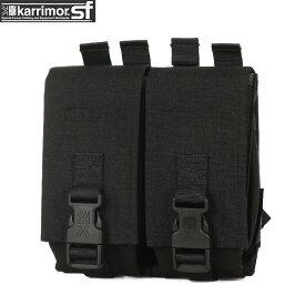 ミリタリー バッグ / karrimor SF カリマー スペシャルフォース Double Ammo Pouch BLACK 【BLACK】《WIP》 ミリタリー 男性 旅行 ギフト 【Sx】