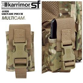 ミリタリー バッグ / karrimor SF カリマー スペシャルフォース 40mm Grenade Pouch Multicam お手持ちのPredatorシリーズの グレードアップにオススメです。《WIP》 ミリタリー 男性 旅行 ギフト 【Sx】