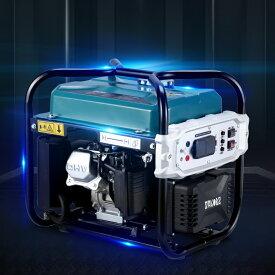 発電機インバーター式 正弦波 最大出力1.9KVA 50Hz/60Hz対応 ガソリン発電機 地震 災害 停電 アウトドア東西日本地域兼用