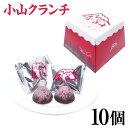 【静岡 お土産】赤富士 小山クランチ 10個 入り 静岡みやげ 手土産 チョコクランチ 世界文化遺産 富士山 クランチチョ…