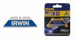 IRWIN 10504240 カッター替刃 1枚刃 バイメタル 5枚入 便利もん