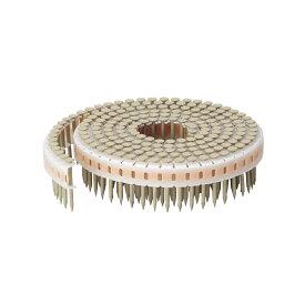垂直プラ連結釘 ステンレス カクテルネイル リング釘 ブラウン 1.83×25mm(190本×10巻)
