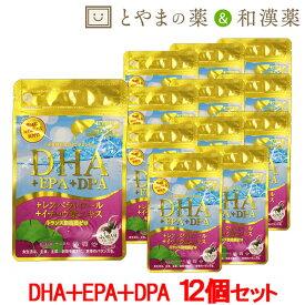 あす楽 送料無料 広貫堂 DHA EPA DPA レスベラトロール 12個セット   イチョウ葉エキス イチョウ葉 トランス脂肪酸ゼロ 青魚マグロ まぐろ サプリ サプリメント 魚不足 オメガ3 ドコサヘキサエン酸 ビタミンe タブレット 健康食品 健康サプリ フィッシュオイル