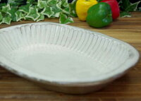 粉引しのぎカレー皿