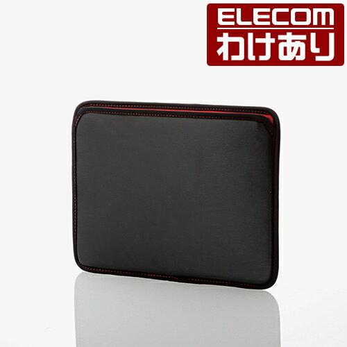 【訳あり】エレコム 10.5インチ iPad Pro (2017年発売モデル) ケース セミハードポーチ スリープ対応 ブラック TB-A17SHPMBK