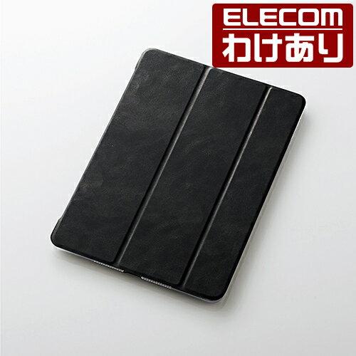 【訳あり】エレコム 10.5インチ iPad Pro 2017年モデル フラップカバー 極み設計 ソフトレザーフラップ 2アングル ブラック:TB-A17WVKBKC【税込3240円以上で送料無料】[訳あり][ELECOM:エレコムわけありショップ][直営]