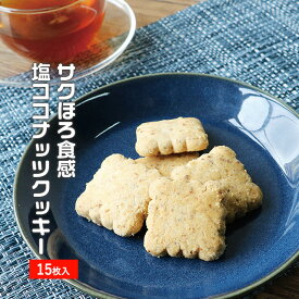 訳あり スイーツ 送料無料 サクほろ食感 塩ココナッツクッキー 15個 くつろぎスイーツ メール便A TSG