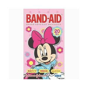 BAND-AID(バンドエイド)  ディズニーのなかまたち ミニー 20枚