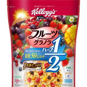 ケロッグ フルーツグラノラハーフ徳用袋 500g 賞味期限2019.03.31